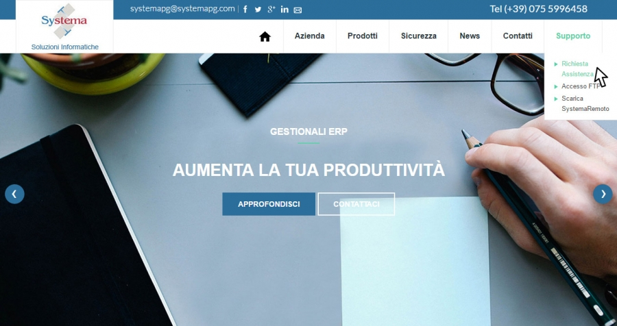 Gestione Assistenza HELPDESK